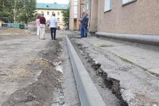 Новосибирск получил 400 миллионов рублей на благоустройство придомовых территорий