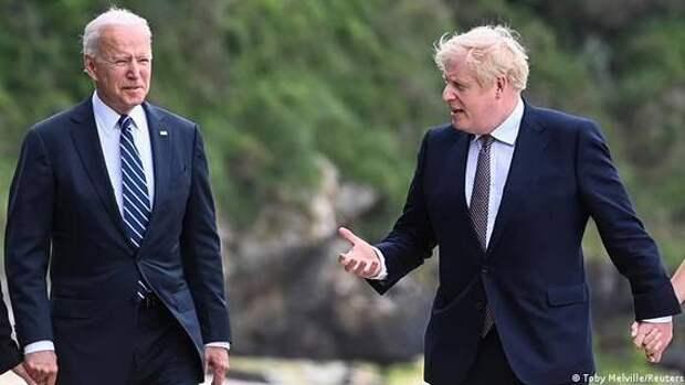 Борис Джонсон собирается провести переговоры с Байденом в ходе поездки в США