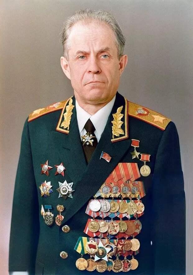 Фото открытых источников.  Маршала Советского Союза Ахромеев