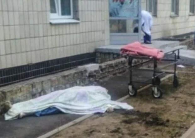 Два пациента с COVID-19 выбросились из окон киевской больницы