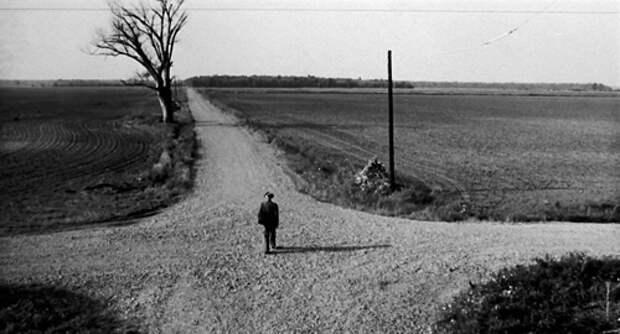 Кадр из фильма «Перекрестки», реж. У.Хилл, 1986