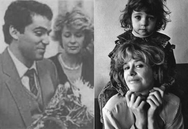 Слева – Гарри Каспаров и Марина Неелова. Справа – актриса с дочерью Никой   Фото: newrezume.org