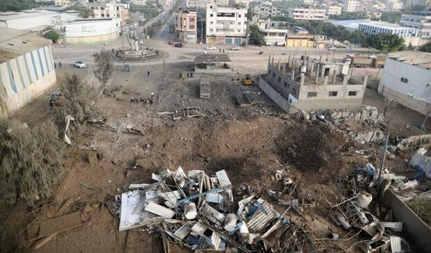 Израиль возобновил ракетные удары по военным объектам в секторе Газа