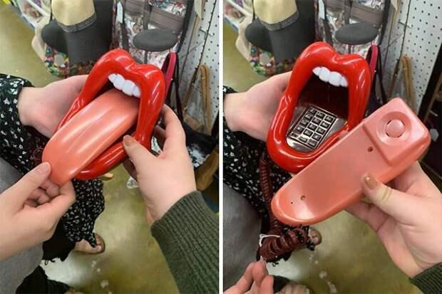 Диско-свинья, телефон-рот идругие диковинки, купленные срук