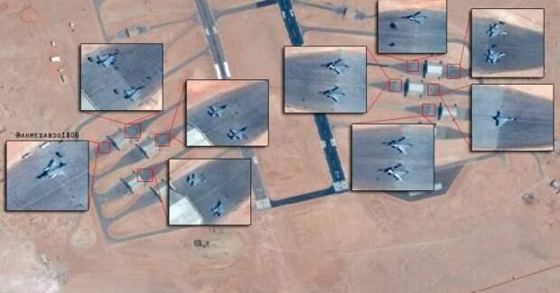 Египет продолжает наращивание авиационной ударной группы на границе с Ливией