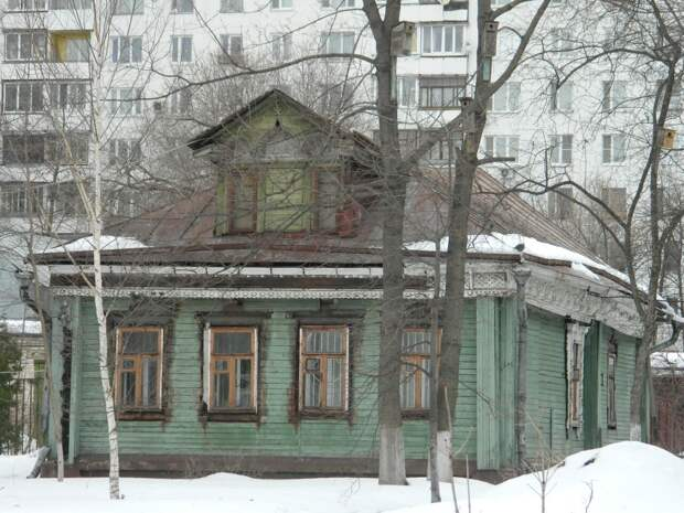О Преображенском кремле и безбрачии староверов (Преображенский вал, 17)