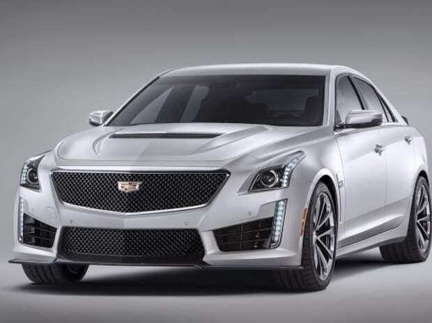 Новый Cadillac CTS-V оказался сильно мощнее немецких конкурентов