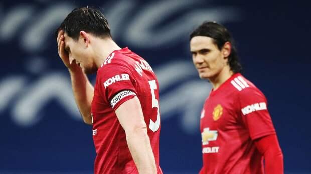 «Манчестер Юнайтед» сыграл вничью с аутсайдером АПЛ «Вест Бромвичем»