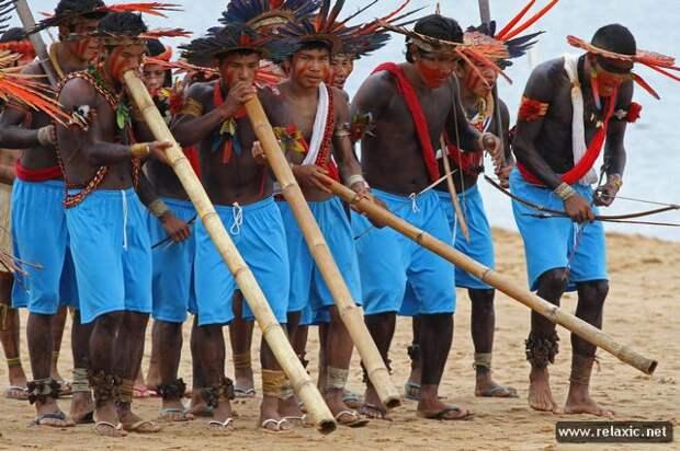 Спортивный фестиваль коренных народов Бразилии (фотопутешествие)