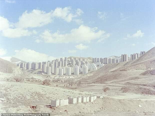 Недостроенный город Пардис - Хашим Шакери, Иран