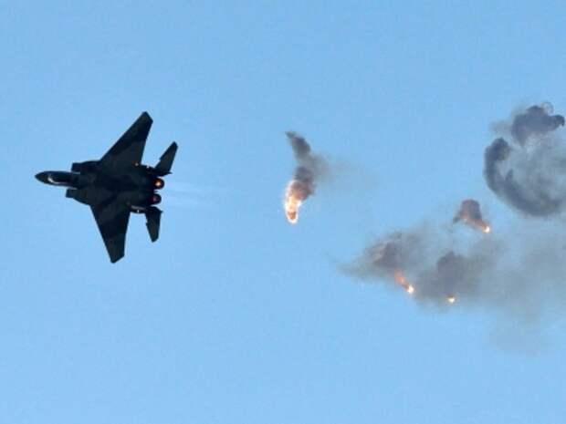 Минобороны Израиля обнародовало видео авиаударов по объектом ХАМАС в секторе Газа