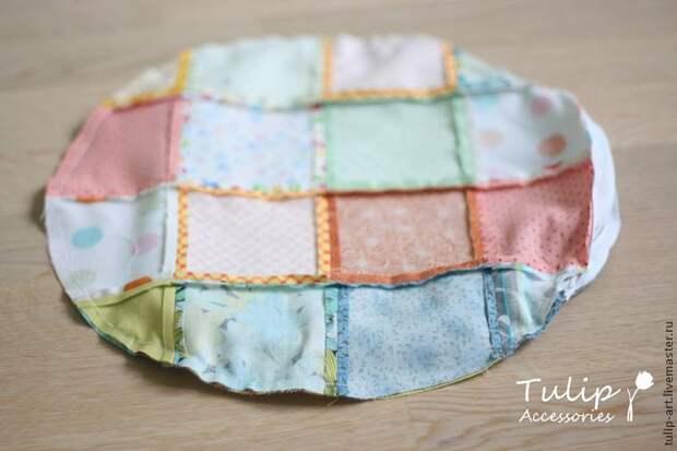 Подушка-сидушка для круглой табуретки