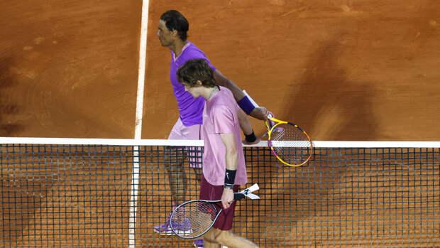 Рублев впервые в карьере обыграл Надаля и вышел в полуфинал турнира в Монте-Карло