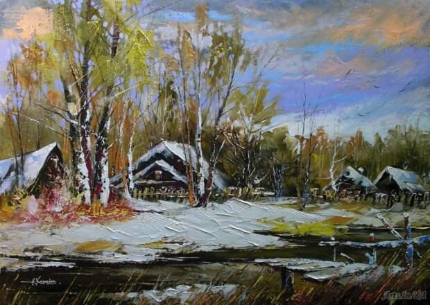 Талантливая живопись Александра Ходюкова