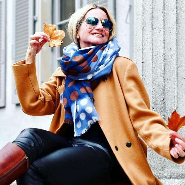 7 шарфов с оригинальным рисунком, которые делают образ женственным и утонченным