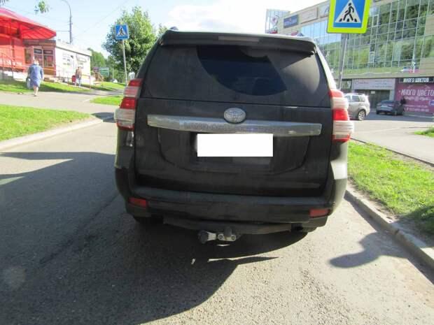 В Удмуртии в последние майские дни трое детей попали под колеса авто