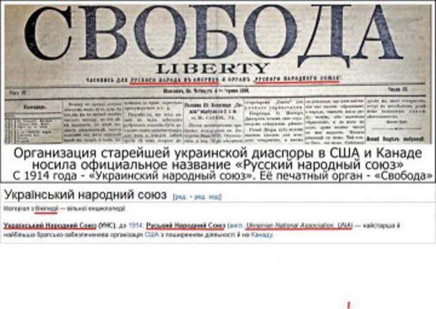 Вопрос свидомым украинцам: почему об «украинцах» 100 лет назад почти никто не знал?