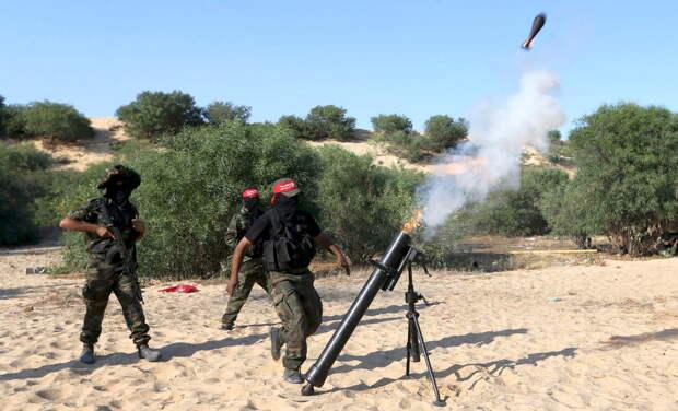Израильтянин ранен в результате минометного обстрела террористами из сектора Газа