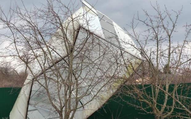В Рязанской области ликвидируют последствия урагана и грозы