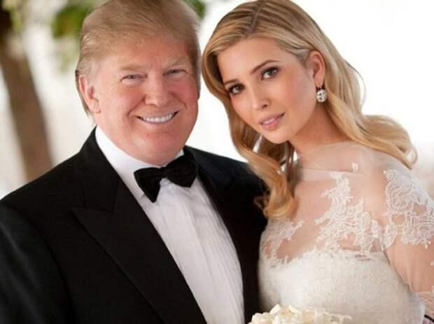 10 место. Дональд и Иванка Трамп (Donald Trump, Ivanka Trump). дочь, знаменитость, отец
