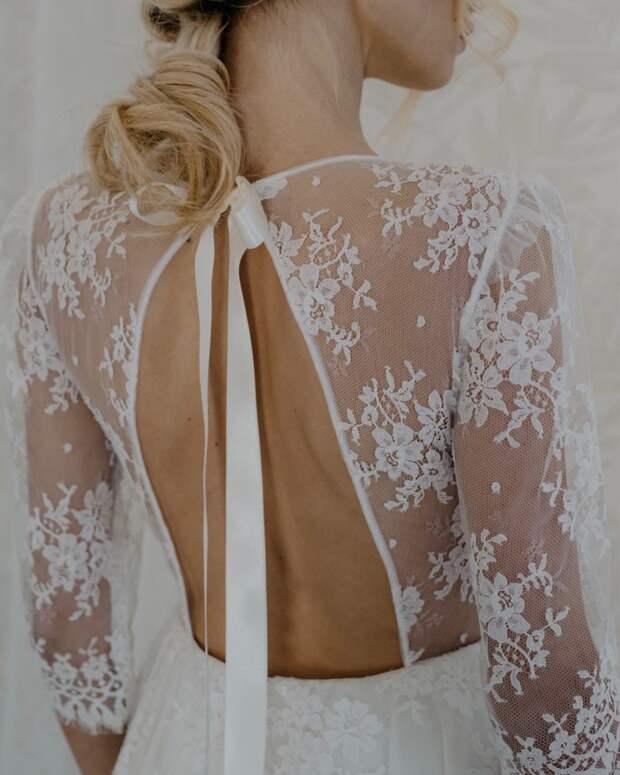 Идеи изумительных спинок для платьев 3