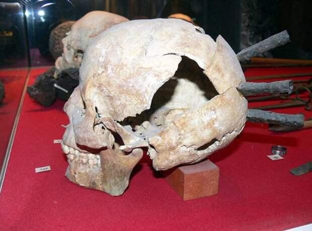 В Швеции обнаружилисредневекового воина одетогов кольчугу
