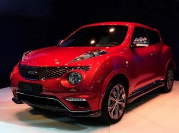 Nissan Juke приехал в Китай под видом Infiniti ESQ