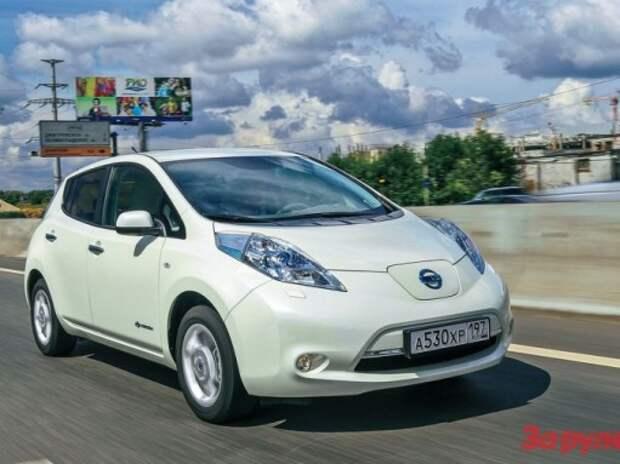 Альянс Renault-Nissan занял более половины рынка электромобилей
