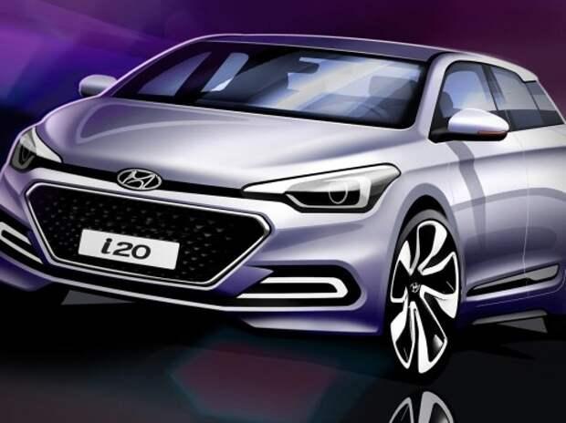 Рассекречен новый хэтчбек Hyundai i20