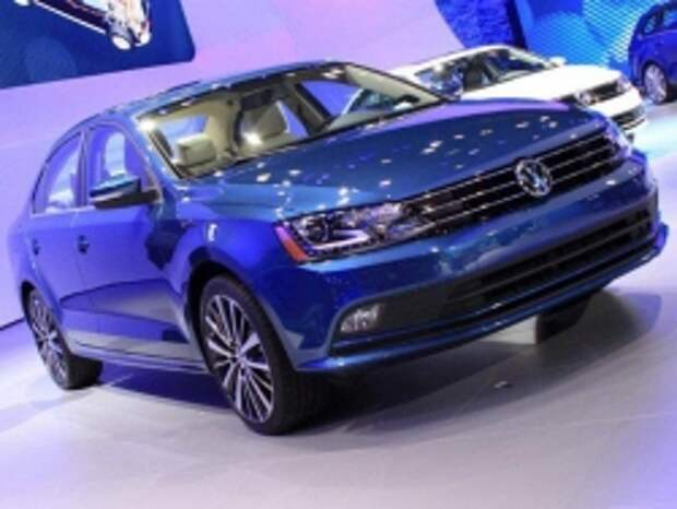 Volkswagen показал обновленный седан Jetta