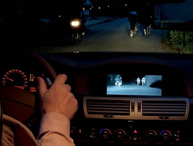 На ночной дороге…