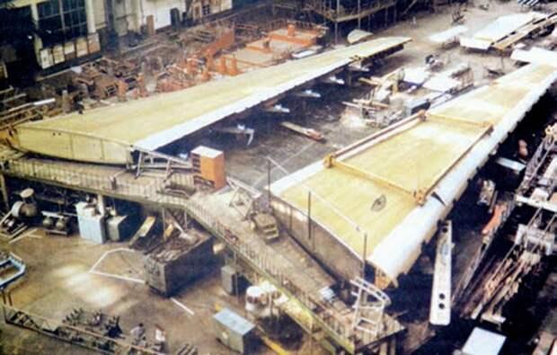 самолет ан-124, крыло ан-124, транспортный самолет