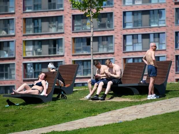 Вильфанд назвал причину жаркой погоды в Москве