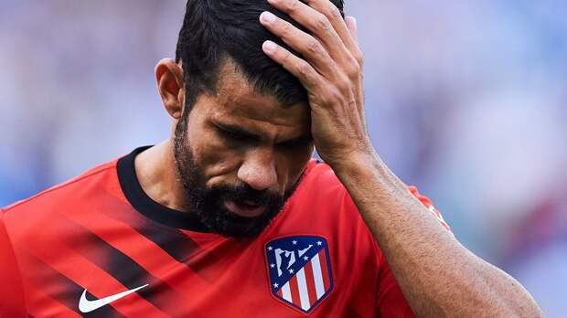 Диего Коста попросил руководство «Атлетико» из-за личных проблем как можно скорее расторгнуть с ним контракт