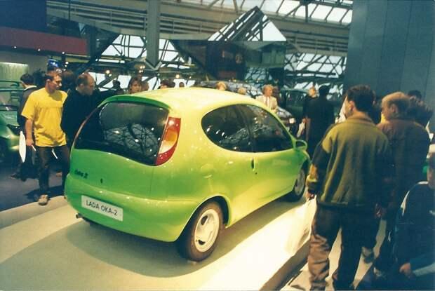 Московский международный автосалон, август 1998 года