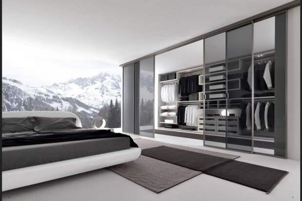 Планирование гардеробной комнаты