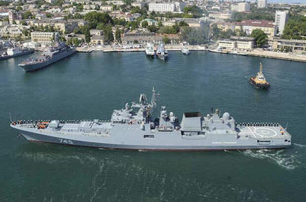 В России отмечают День Черноморского флота