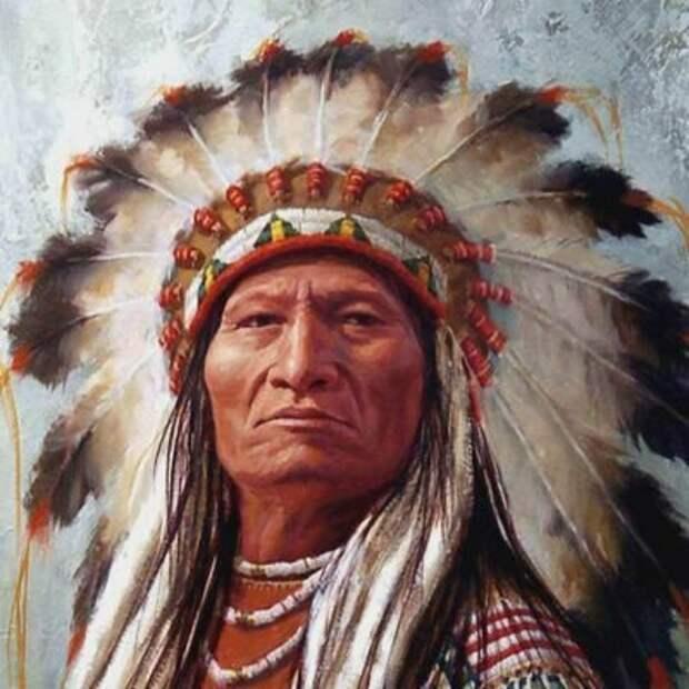 Старик и индейское пожелание добра