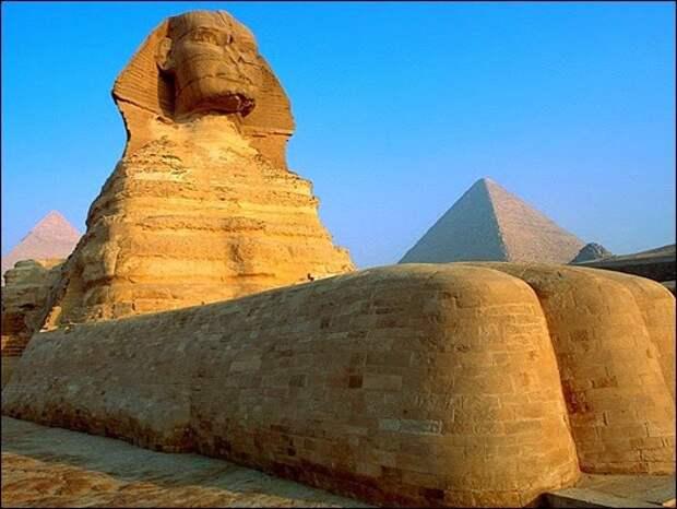 Загадки египетского Сфинкса: чем дальше копают, тем их больше Сфинкса, египетского, загадки