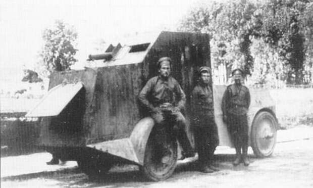 Jeffery Armored Car. . Не комом