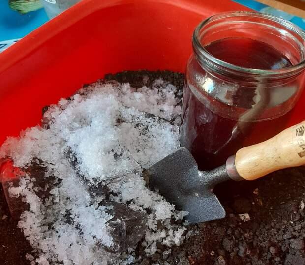 Подготовка почвы, зачем усложнять. Жарим, парим, морозим подходит для урожая, а не для земли.