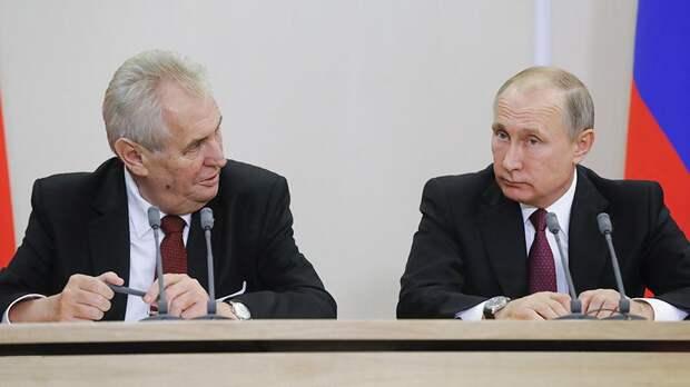 Президент Чехии назвал Путина одним из самых влиятельных политиков