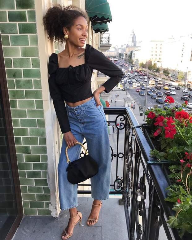 С чем носить джинсы летом фото 1