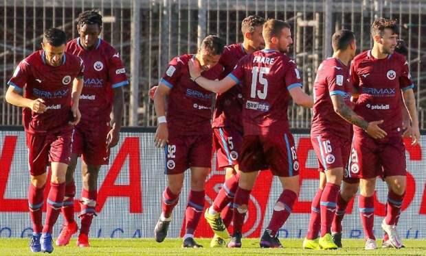 «Читтаделла» разгромила «Монцу» в первом полуфинале плей-офф за место в Серии А