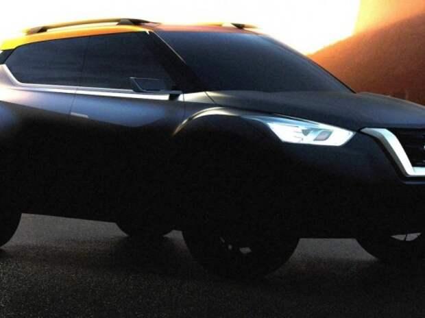 Nissan показал новый компактный кроссовер