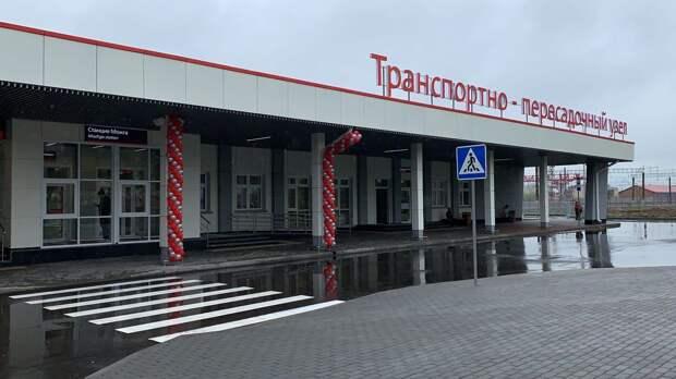 В Можге открылся новый железнодорожный вокзал