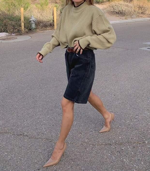 Стильные шорты: С чем носить самый модный тренд этого лета
