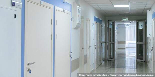 Собянин рассказал о ходе программы реконструкции поликлиник. Фото: Д. Гришкин mos.ru